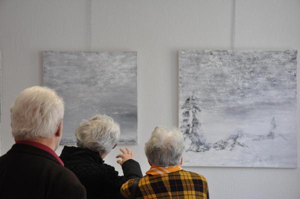 27 vvl les oeuvres lumieres australe de l artiste peintre verena von lichtenberg de paris a la galerie d art du musee