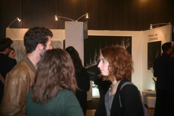 3 a l exposition et au salon d art art shopping l artiste peintre verena von lichtenberg et ses oeuvres d art nord licht