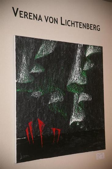 3 une exposition avec les oeuvres d art peinture et tableau de l artiste peintre verena von lichtenberg