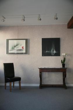 32 die ausstellung der malerin und der artiste peintre verena von lichtenberg in auxerre in der galerie d art art expression