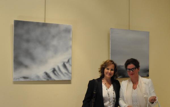 37 une exposition d art en muse es ou en galeries d art les oeuvres de l artiste peintre verena von lichtenberg sont a madrid
