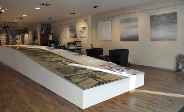 3a die kunstausstellung der malerin verena von lichtenberg aus darmstadt hessen sie ist in brugge mit ihren bildern in der galerie d art erasmus s utopian