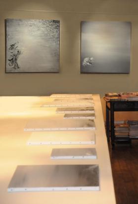 3a l artiste peintre verena von lichtenberg de paris est a bruges a la galerie d art erasmus des tableaux et oeuvres d art moderne