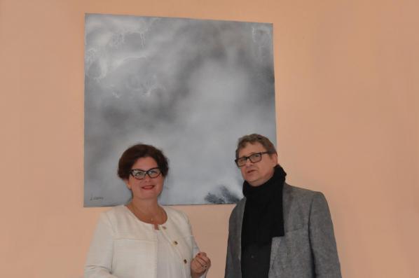 4 verena von lichtenberg artiste peintre daniel chalons les oeuvres d art et expositions luxe elegance noblesse 2