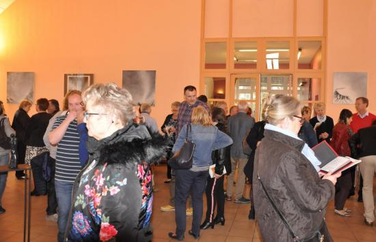 42 1 Une exposition d'art en Champagne Jonchery-sur-Vesle les tableaux lyrique de Verena von Lichtenberg