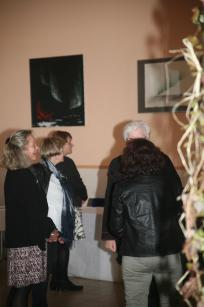 46 die malerin und kunstlerin verena von lichtenberg aus paris ist mit ihren bildern und kunstwerken in der champagne