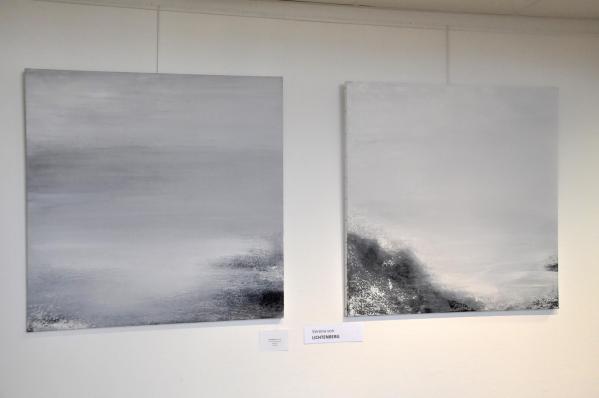 5 exposition d art et de peinture verena von lichtenberg a paris 5e me avec florence berthout maire de paris 5eme