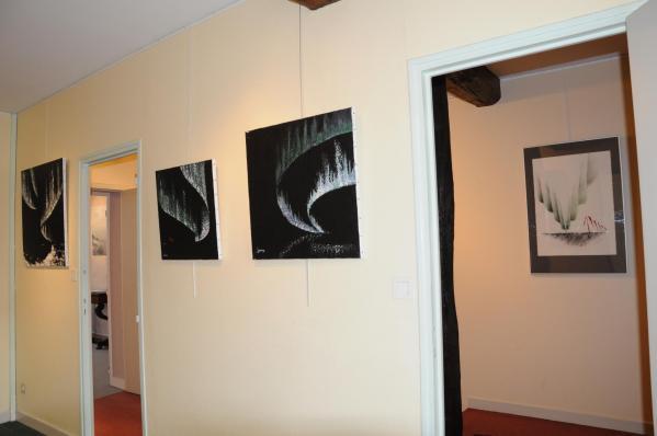 51a l exposition d art nord licht de l artiste peintre verena von lichtenberg a la galerie d art art expression a auxerre des tableaux et oeuvres d art du grand nord