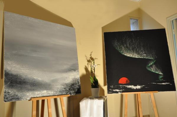 52 l exposition d art contrast lumiere australe ou nord licht les oeuvres d art de l artiste peintre verena von lichtenberg