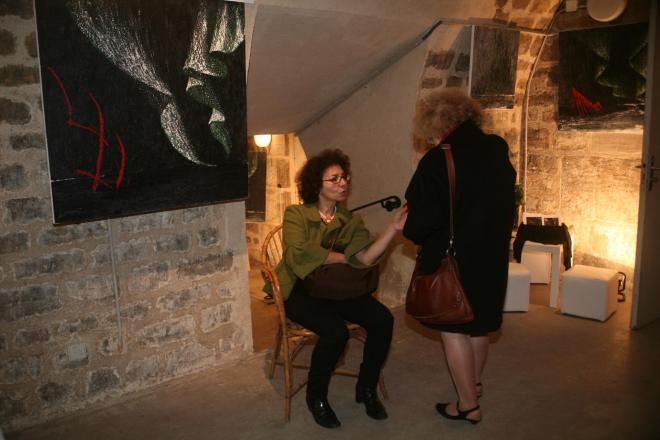 54 verena von lichtenberg une artiste peintre a paris et les oeuvres d art et exposition nord licht