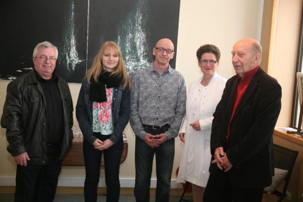 61 l exposition d art nord licht de l artiste peintre verena von lichtenberg a auxerre