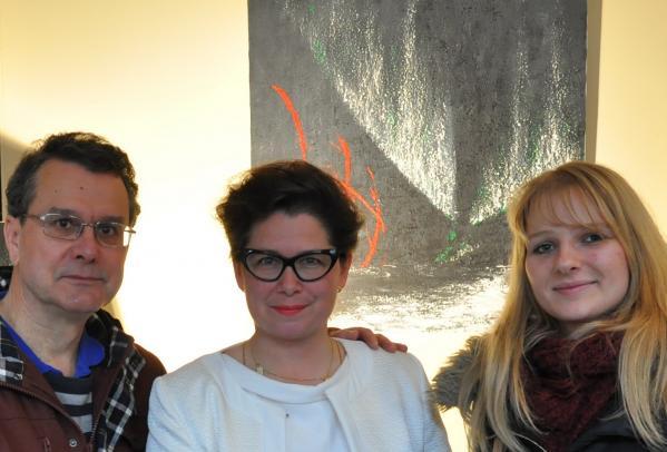 61 une exposition d art a auxerre les tableaux et toiles de l artiste peintre verena von lichtenberg a la galerie d art art expression a auxerre