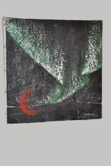 63 verena von lichtenberg eine malerin und kunstlerin aus strasbourg in der champagne mit ihren bildern und werken der austellung nord licht