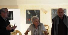 65a l exposition d art de l artiste peintre verena von lichtenberg de paris avec les musee de bourgogne a saulieu paule bathiard et chez verena 1