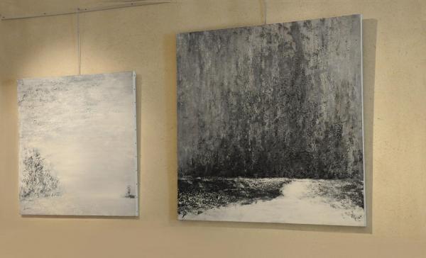 6a l exposition d art et de peinture de verena von lichtenberg artiste peintre de paris elle est a bruges erasmus art galerie