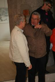 80 exposition d art contemporain l artiste peintre verena von lichetnberg au musee pompon a saulieu en bourgogne