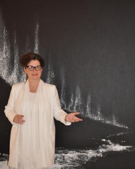 85 die kunstausstellung der malerin und kunstlerin verena von lichtenberg bilder und werke der sehrie nord licht eine ausstellung in der champagne bei reims in jonchery sur vesle
