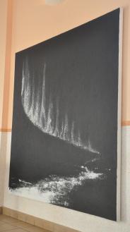 86 dier kunstausstellung der malerin und kunstlerin verena von lichtenberg aus strabourg bilder und gemalde der austellung nord licht bei reims in jonchery sur vesle in der champag
