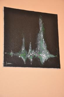 88 verena von lichtenberg eine malerin und kunstlerin aus strasbourg und ihre ausstellung nord licht die ausstellung ist in der champagne bei reims
