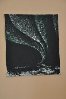 89 verena von lichtenberg eine malerin und kunstlerin aus strasbourg ihre bilder der ausstellung nord licht sind in museen galerien und auch in jonchery sur vesle bei reims in der