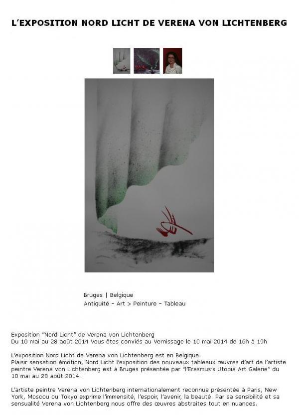 Art et exposition die austellung de kunstlerin verena von lichtenberg ihre bilder und werke in brugge en belgien article3 2