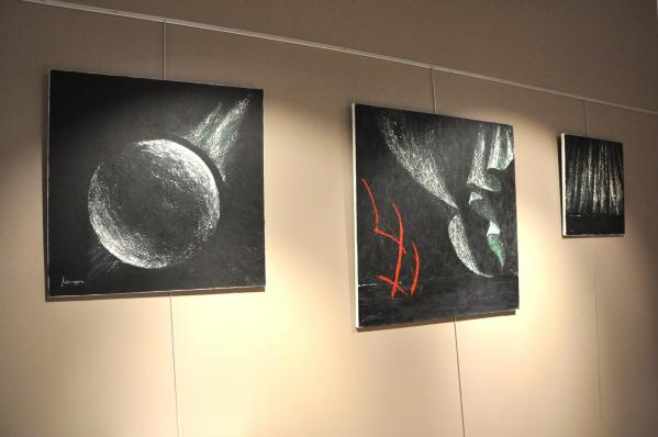 Cultura une exposition d art les oeuvres d art de l artiste peintre verena von lichtenberg a reims cormontreuil