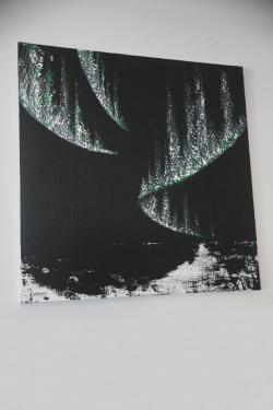 Die kunst ausstellung der malerin verena von lichtenberg welche in darmstadt lebte ist in saint quentin en yvelines eine stadt der modernen kunst