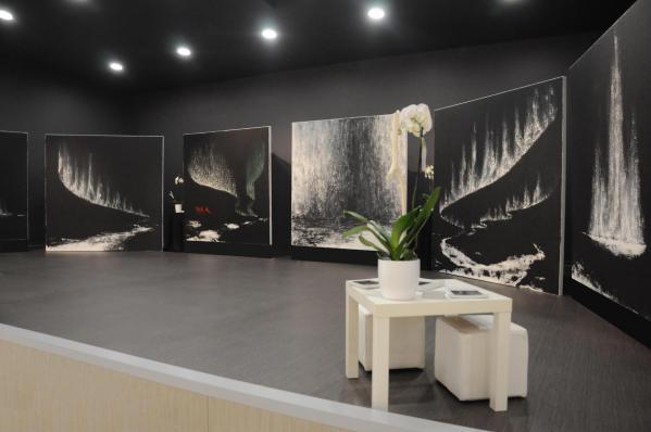 Elles ont e te au louvre les tableaux et peinture de 2m sur 2m de l artiste peintre verena von lichtenberg de paris des toiles dans les muse es et galerie d art alsace champagne