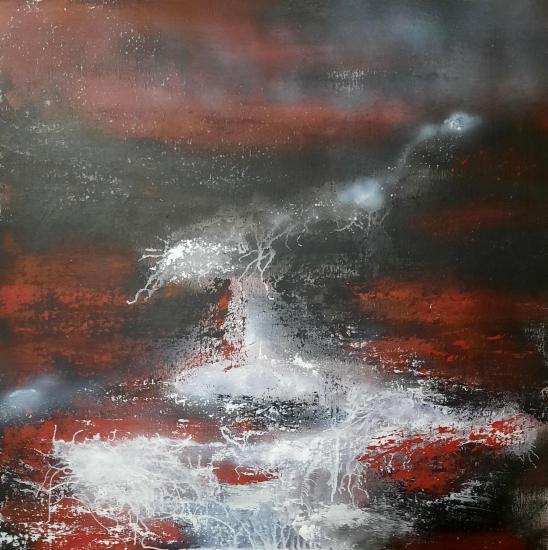 Eruption tableaux d art verena von lichtenberg artiste peintre blutrot 001 80