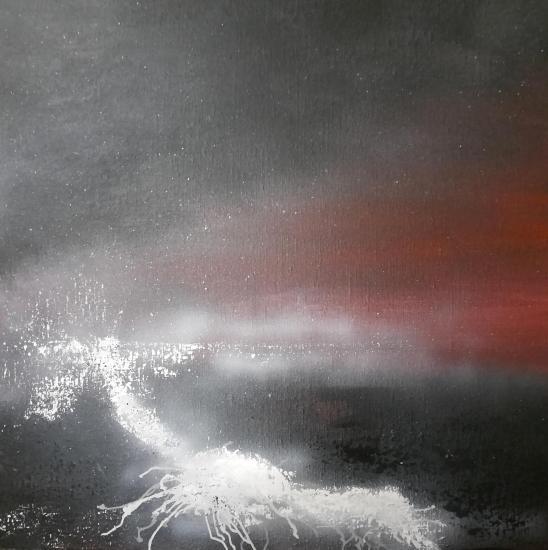 Eruption tableaux d art verena von lichtenberg artiste peintre blutrot 007 60
