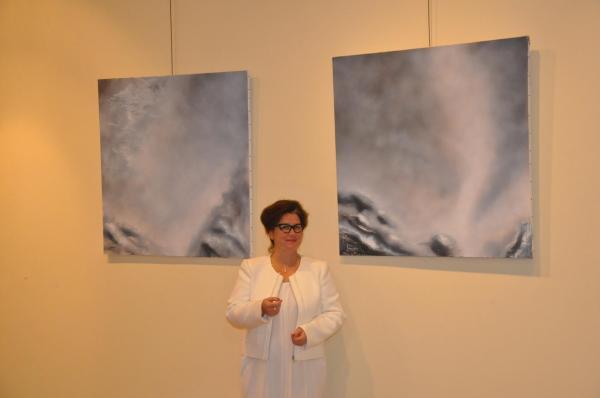 Exposition d art et de peinture l artiste peintre verena von lichtenberg ses tableaux et oeuvres d art a madrid