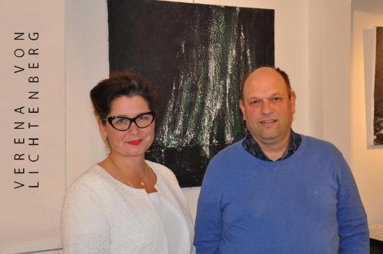 Florenville and the painter verena von lichtenberg eine kunstausstellung in der galerie contrast art bei der abbaye d orval