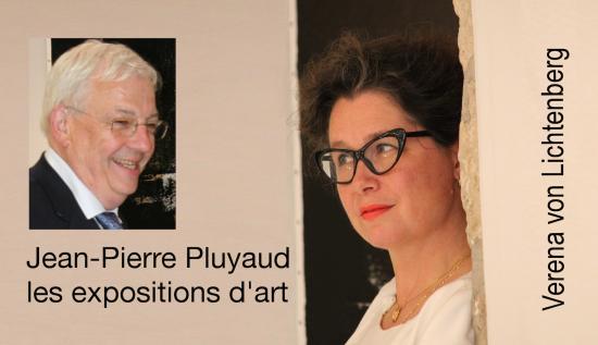 Jean pierre pluyaud vice pre sident st quentin en yvelines l artiste verena von lichtenberg exposition d art tokyo new york paris moscow