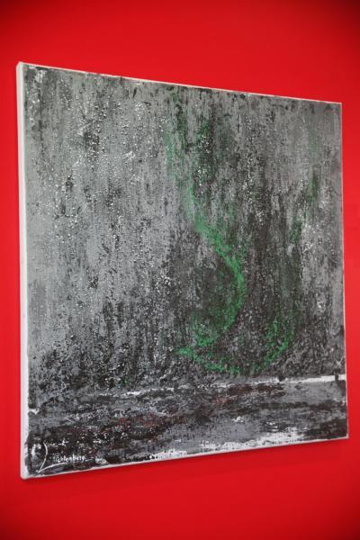 L artiste peintre verena von lichtenberg est a saint quentin en yvelines chez gerondicap avec l exposition d art nord licht 1
