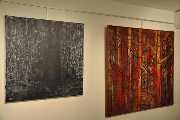 L artiste peintre verena von lichtenberg et floris jespers un face a face entre deux peintre