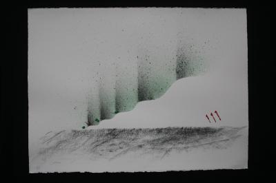 L nord licht aurores boreales nord sud licht de verena von lichtenberg artiste peintre a paris