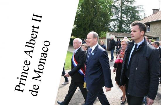 Le prince albert ii de monaco luce ele gance et noblesse et l artiste verena von lichtenberg