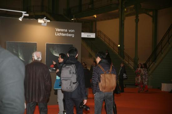 Les oeuvres de l artiste peintre verena von lichtenberg au grand palais a paris