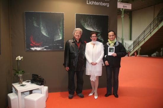 Les reporteurs photographes de han yuchen verena von lichtenberg yadong li president fondateur association festival de documentaire franco chinois