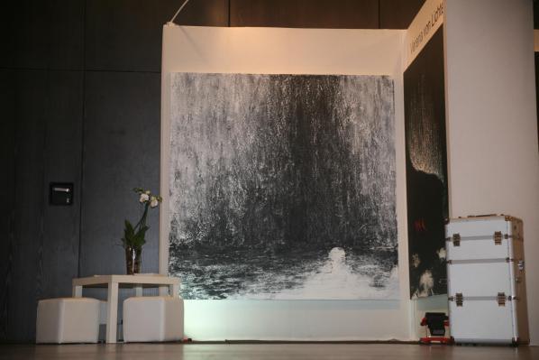 Les tableaux d art et toiles de l artiste peintre verena von lichtenberg au louvre a paris une exposition d art et de peinture