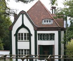 Maison de peter behrens a darmstatd