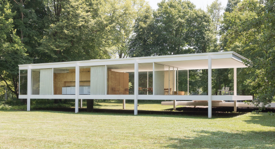 Maison ludwig mies van der rohe