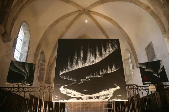 Saulieu une exposition d art et de peinture de l artiste peintre verena von lichtenberg