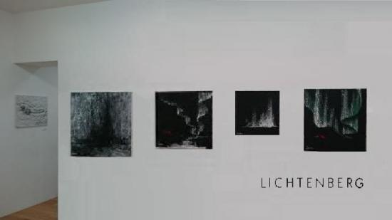 The art painter verena von lichtenberg and her exhibition nord licht in tokyo in the art gallery k